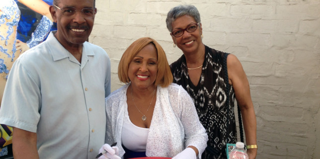Joe, Darlene Love and Sherry